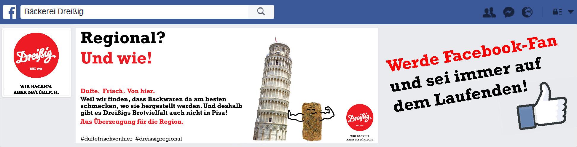 Jetzt Facebook Fan werden!