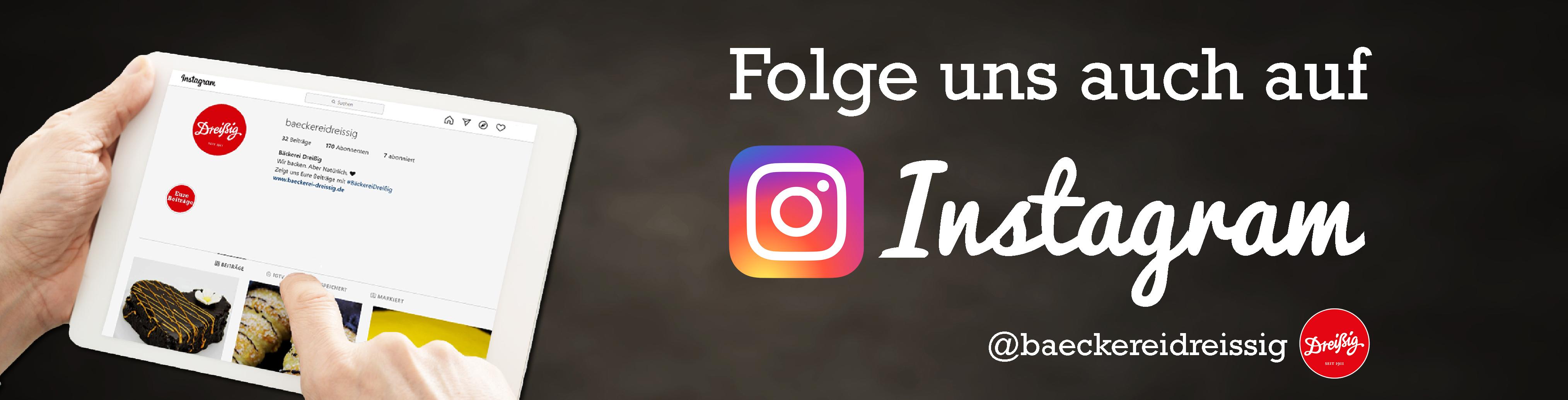 Jetzt auch auf Instagram!