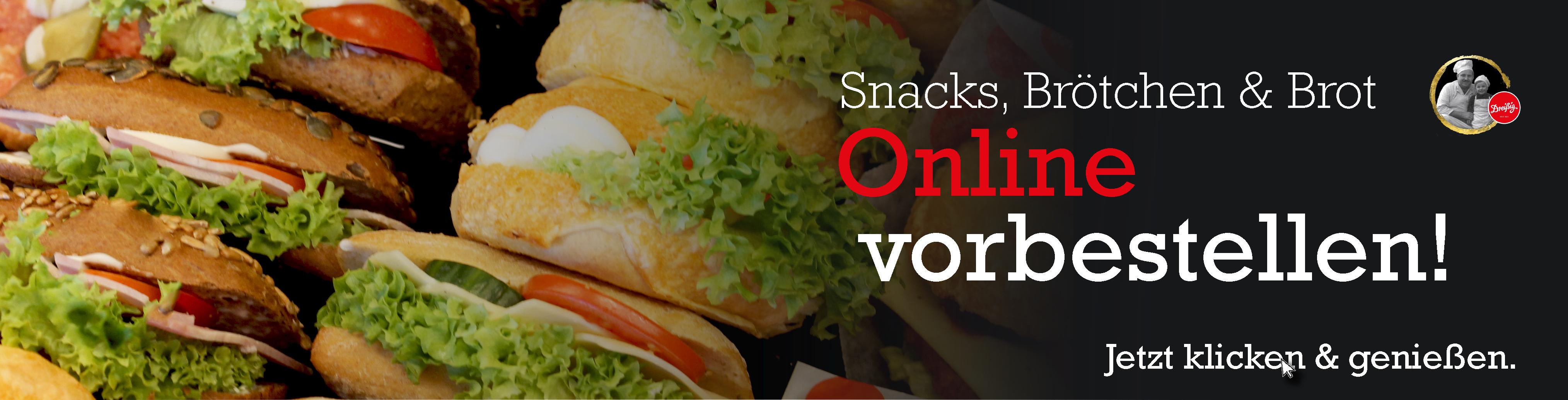 Snacks Online bestellen!