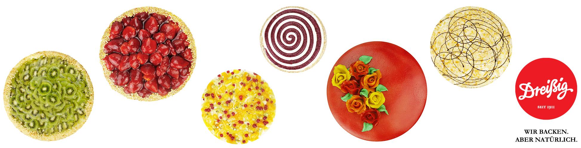 Unsere Tortenvielfalt