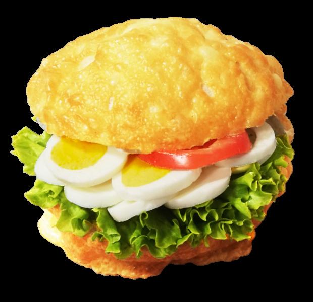 Käse-Ei Brötchen