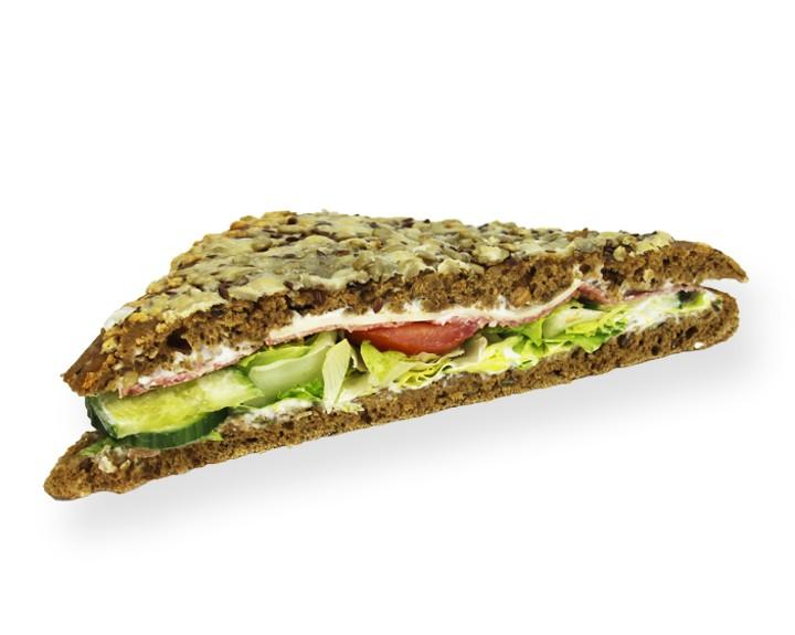 Salami-Körnerfladen