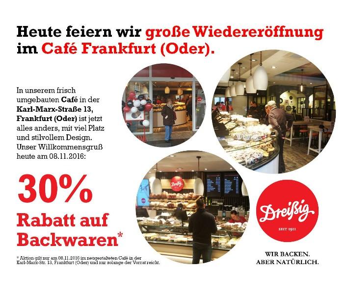Wiedereröffnung in Frankfurt (Oder)