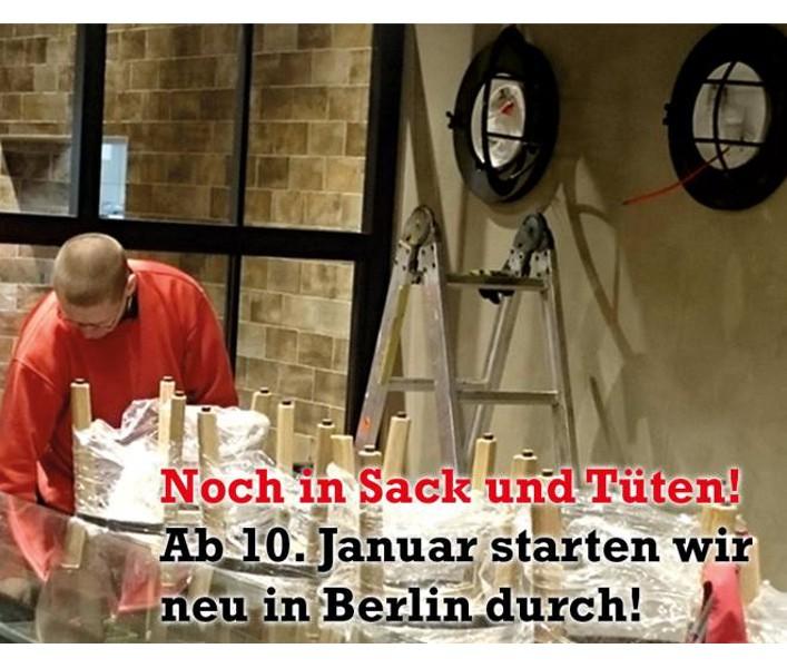 Neueröffnung in Berlin