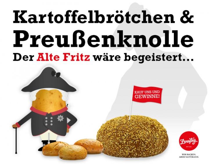 Kartoffelbrötchen & Preußenknolle