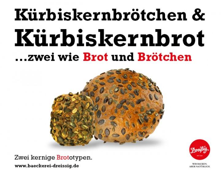 Kürbiskernbrötchen & Kürbiskernbrot...