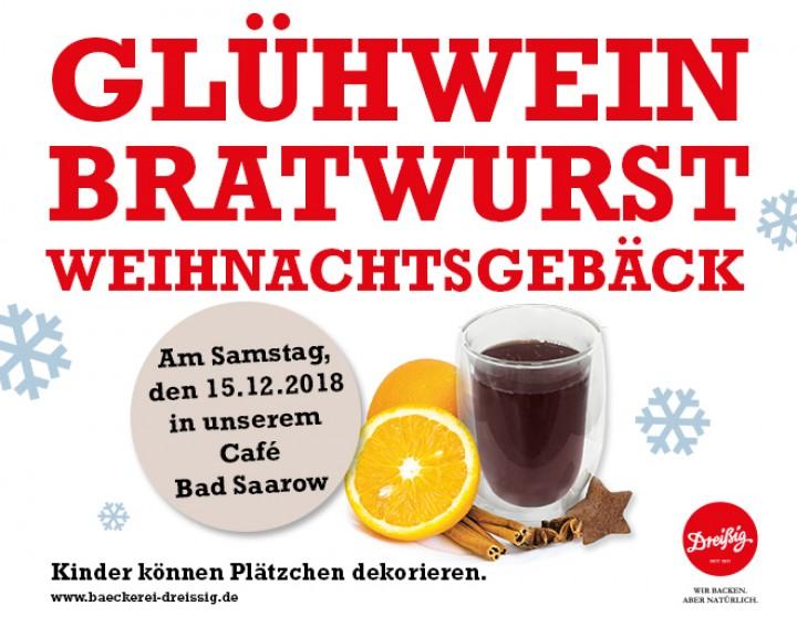 Unser Weihnachtsstand im Café Bad Saarow