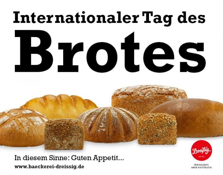 Internationaler Tag des Brotes