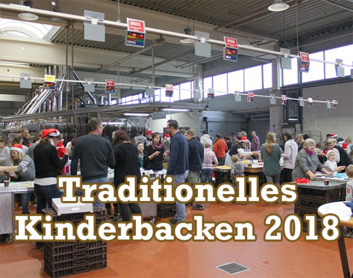 Traditionelles Kinderbacken 2018