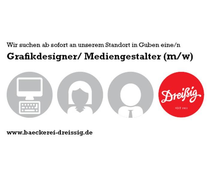 Grafikdesigner/ Mediengestalter (m/w) gesucht