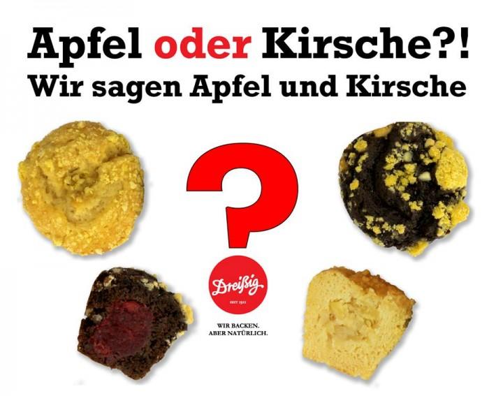 Apfel oder Kirche?