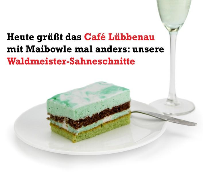 Gruß aus dem Café Lübbenau