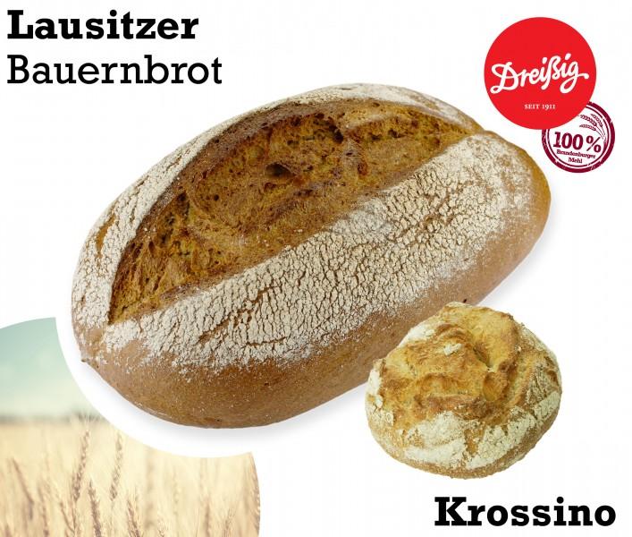 neue Brototypen im August: Lausitzer Bauernbrot & Krossino
