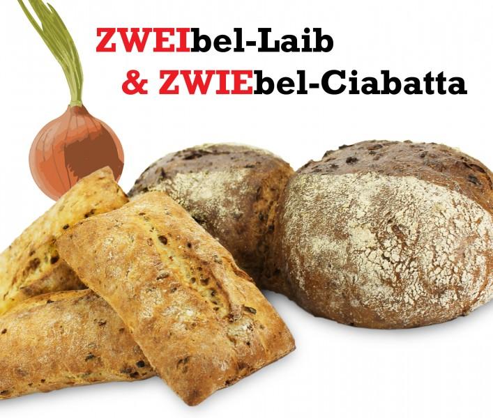 Brototyp des Monats: ZWEIbel-Laib & ZWIEbel-Ciabatta